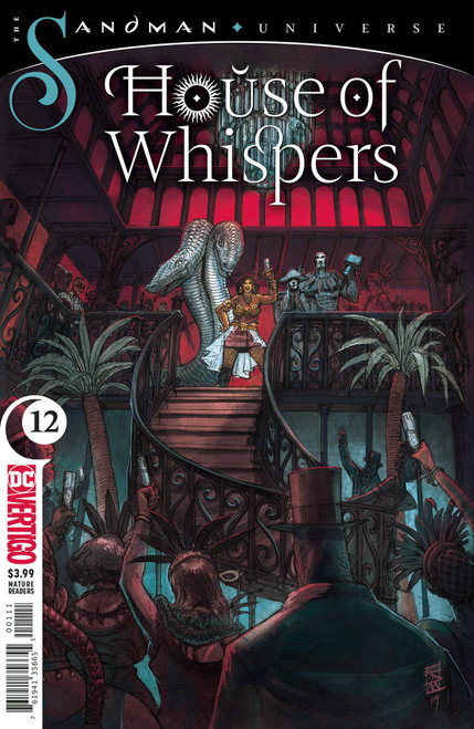 DC House of Whispers #12 The Sandman Universe Comic Book