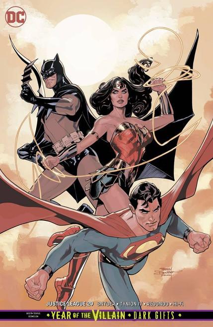 DC Justice League #29 Comic Book [Terry / Rachel Dodson Variant Cover]