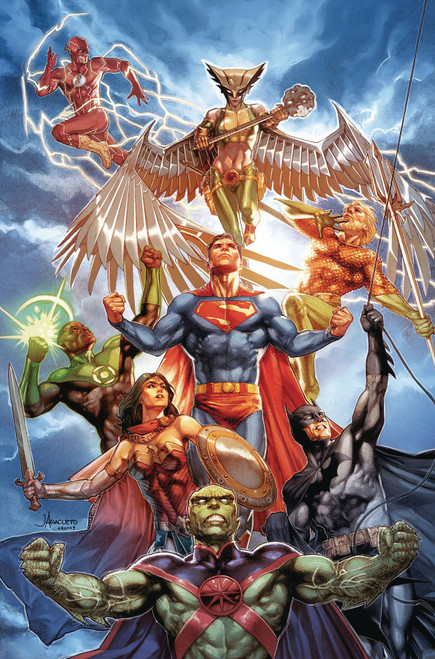 DC Justice League #30 Comic Book [Jay Anacleto Variant Cover]