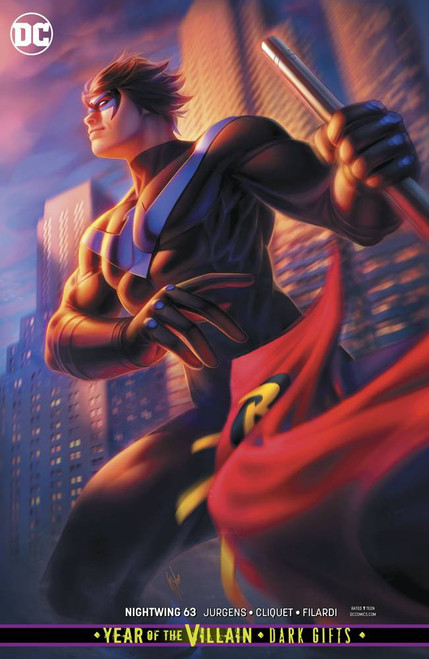 DC Nightwing #63 Comic Book [Warren Louw Variant Cover]
