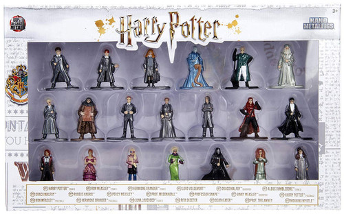 Nano Metalfigs Harry Potter 1.5-Inch Diecast Figure 20-Pack [Verison 2]