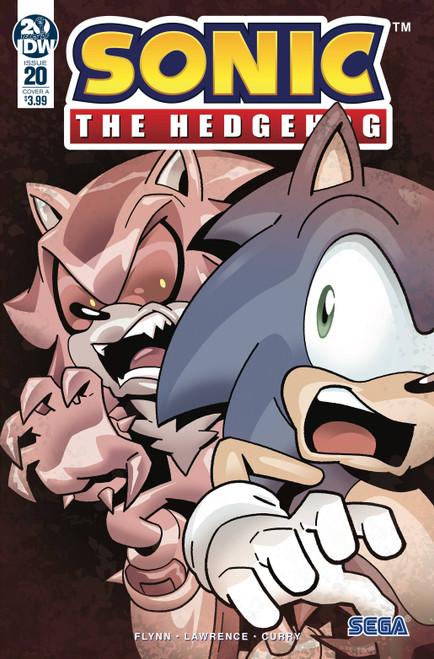 IDW Sonic The Hedgehog #20 Comic Book