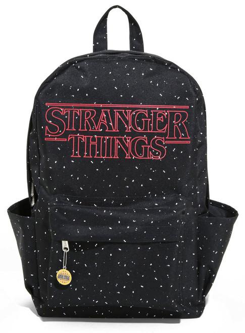 Stranger Things Logo Speckled Backpack