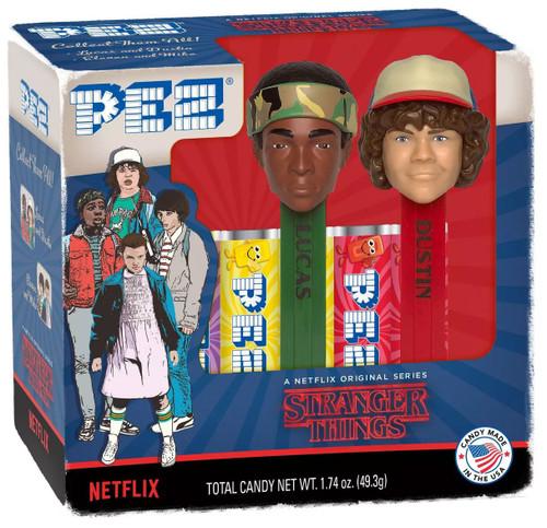 PEZ Stranger Things Lucas & Dustin Pez Dispenser 2-Pack