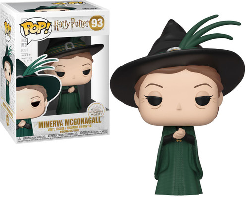 Funko Harry Potter POP! Movies Minerva McGonagall Vinyl Figure #93 [Yule Ball]
