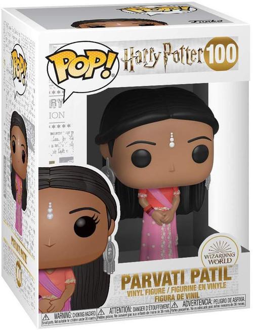 Funko Harry Potter POP! Movies Parvati Patil Vinyl Figure [Yule Ball]