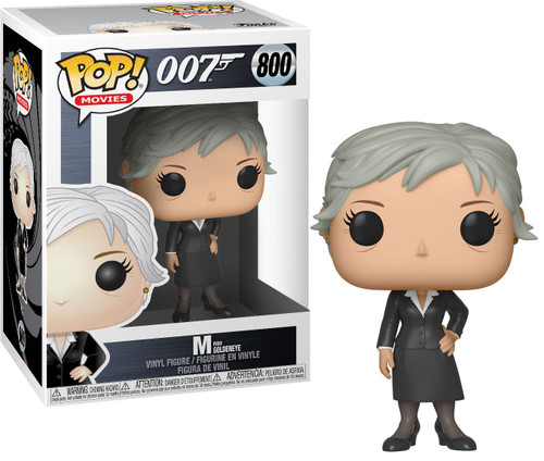 Funko James Bond POP! Movies M Vinyl Figure