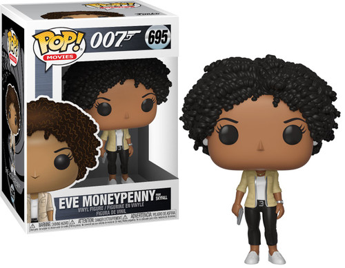 Funko James Bond POP! Movies Eve Moneypenny Vinyl Figure