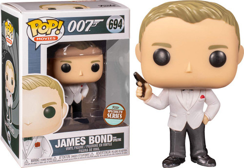 Funko Spectre POP! Movies James Bond Exclusive Vinyl Figure #694 [Daniel Craig, Spectre]