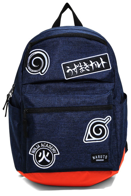 Naruto Symbols Patches Backpack