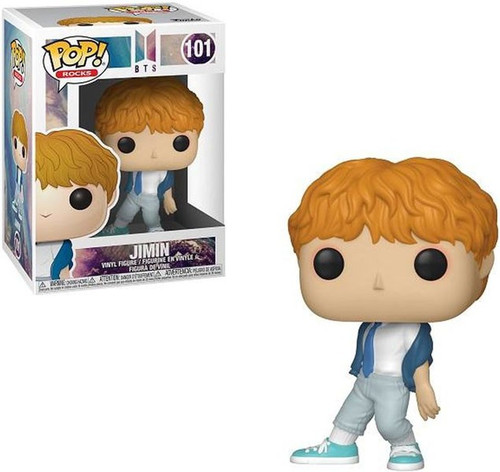 Funko BTS POP! Rocks Jimin Vinyl Figure #101 [Damaged Package]