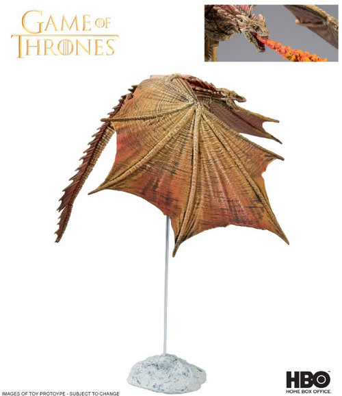 McFarlane Toys Game of Thrones Viserion Deluxe Action Figure [Flying]