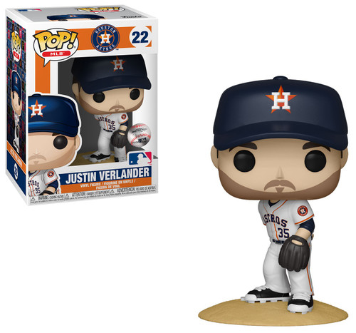 Funko MLB POP! Sports Baseball Justin Verlander Vinyl Figure [Damaged Package]