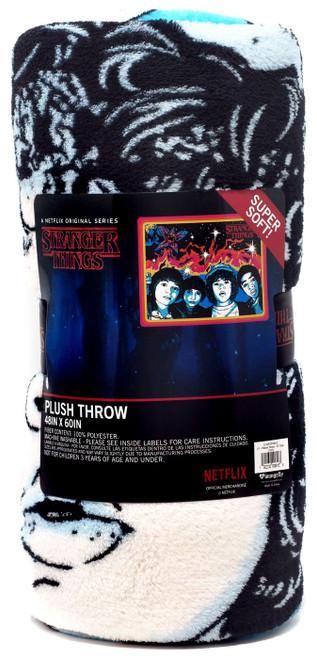Stranger Things Will, Mike, Dustin & Lucas Fleece Throw Blanket