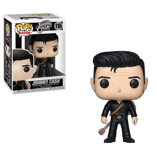 Funko POP! Rocks Johnny Cash Vinyl Figure [Black, Damaged Package]