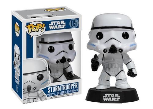 Funko POP! Star Wars Stormtrooper Vinyl Bobble Head #05 [Damaged Package]