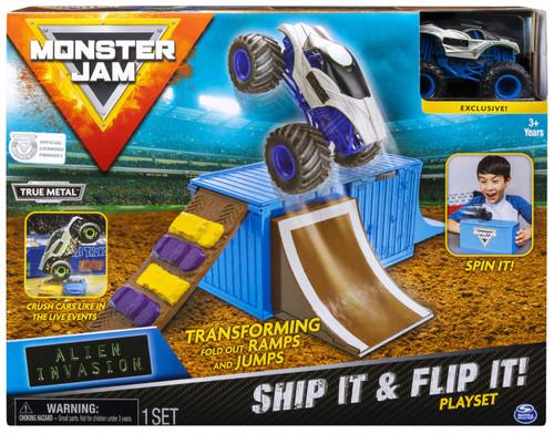 Monster Jam Ship It & Flip It! Playset
