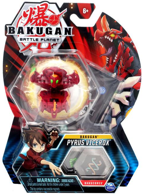 Bakugan Battle Planet Battle Brawlers Bakugan Pyrus Vicerox