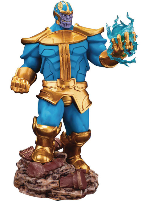 Marvel Avengers Infinity War D-Select Thanos Exclusive 6-Inch Statue DS-014SP [Light Colors]