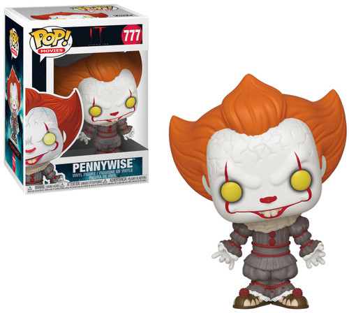 Funko IT Movie Chapter 2 POP! Movies Pennywise Vinyl Figure #777 [Open Arms]