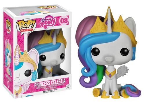 Funko POP! My Little Pony Princess Celestia Vinyl Figure #08 [Damaged Package]