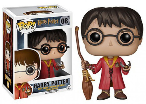 Funko POP! Movies Harry Potter Vinyl Figure #08 [Quidditch, Damaged Package]