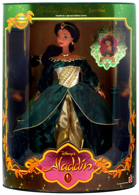 Disney Princess Aladdin Holiday Princess Jasmine Doll