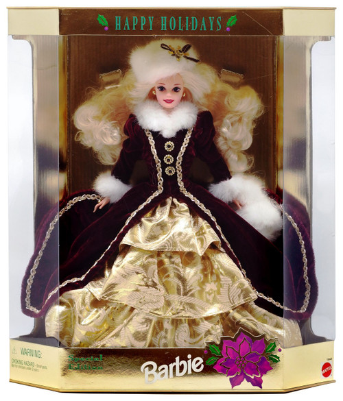Happy Holidays Barbie Doll [1996 Special Edition, Blonde]