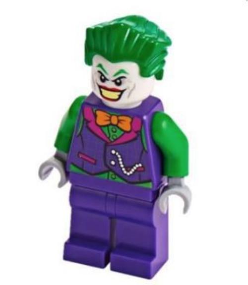 LEGO DC Universe Super Heroes The Joker Minifigure [Orange Bow Tie, Green Arms Loose]