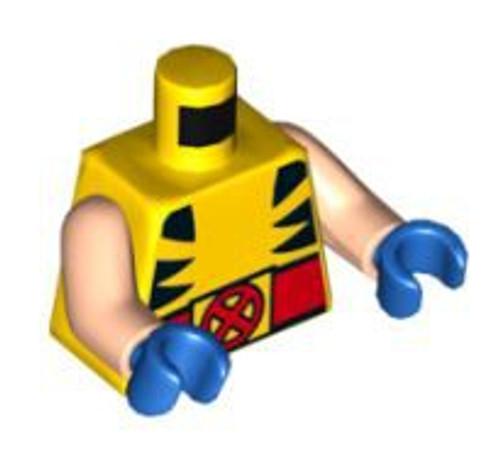 LEGO Wolverine's Loose Torso [Loose]