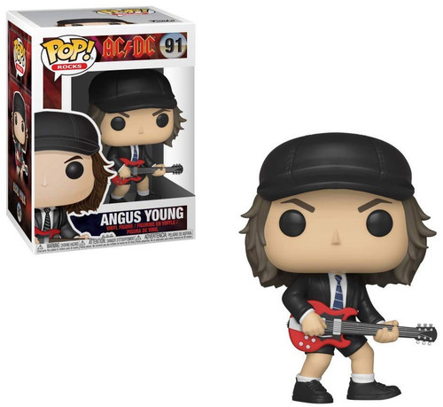 Funko AC / DC POP! Rocks Angus Young Vinyl Figure #91 [Black Hat, Regular Version, Damaged Package]