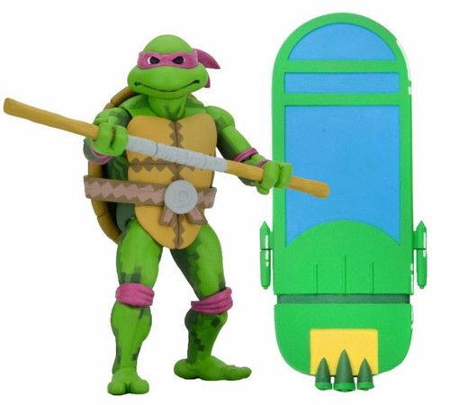 NECA Teenage Mutant Ninja Turtles Turtles in Time Series 1 Donatello Action Figure