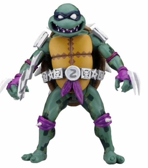 NECA Teenage Mutant Ninja Turtles Turtles in Time Series 1 Slash Action Figure