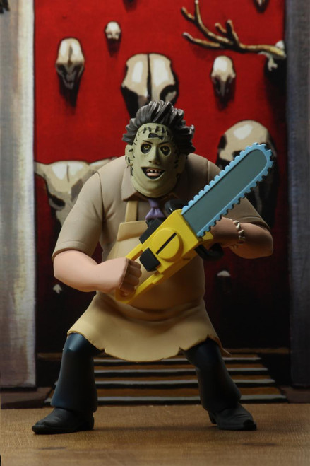 NECA Texas Chainsaw Massacre Toony Terrors Series 2 Leatherface Action Figure