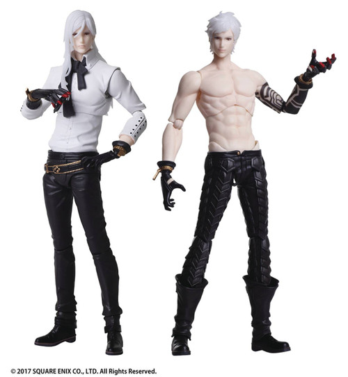 NieR: Automata Bring Arts Adam & Eve Action Figure 2-Pack