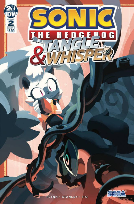 IDW Sonic The Hedgehog Tangle & Whisper #2 of 4 Comic Book [Fourdraine Cover B ]