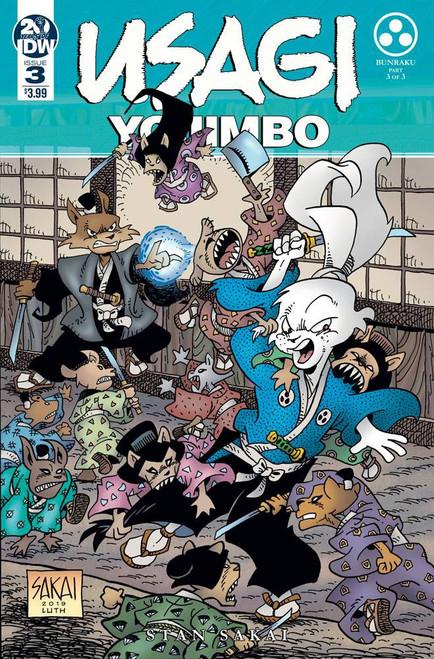 IDW Usagi Yojimbo #3 Comic Book