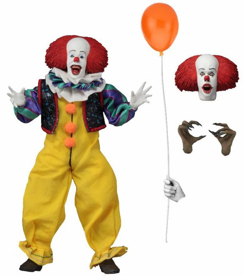 NECA IT (1990) Pennywise Clothed Action Figure
