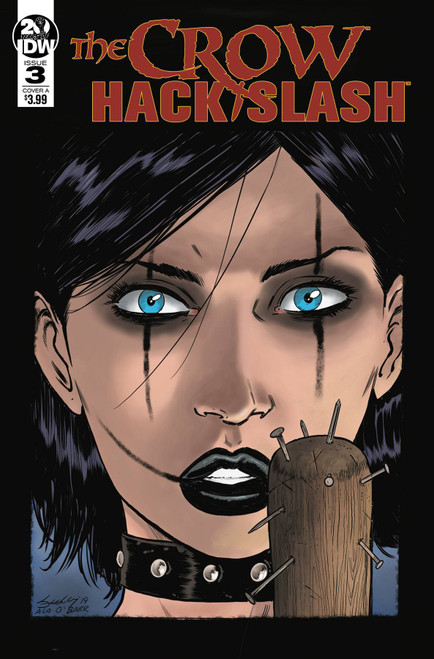 IDW Crow Hack Slash #3 of 4 Comic Book