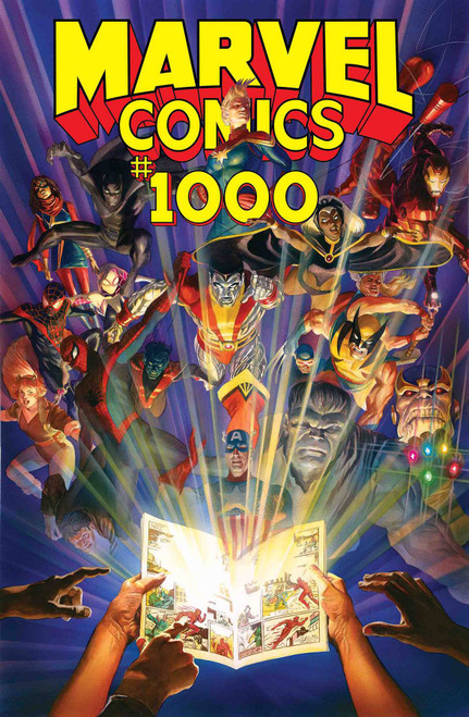Marvel Comics #1000 Comic Book