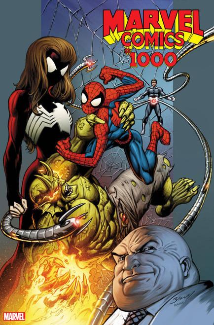 Marvel Comics #1000 Comic Book [Mark Bagley 2000's Variant Cover]