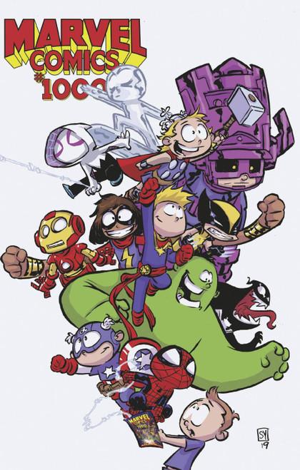 Marvel Comics #1000 Comic Book [Skottie Young Variant Cover]