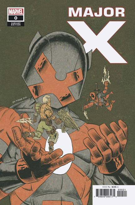 Marvel Comics Major X #0 Comic Book [Ed Piskor Variant Cover]
