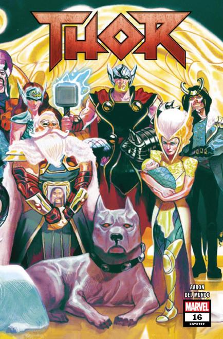 Marvel Comics Thor #16 Comic Book