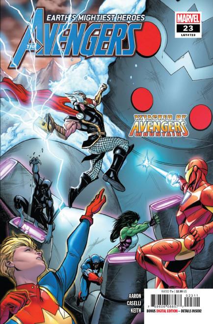Marvel Comics Avengers #23 Comic Book