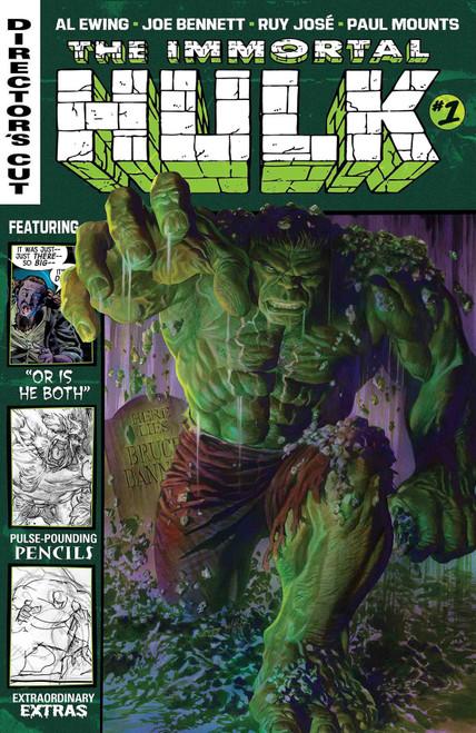 Marvel Comics The Immortal Hulk #1 of 6 Directors Cut Comic Book