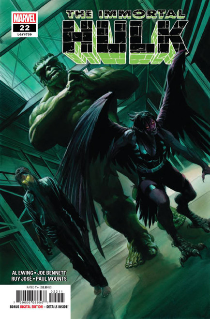 Marvel Comics The Immortal Hulk #22 Comic Book