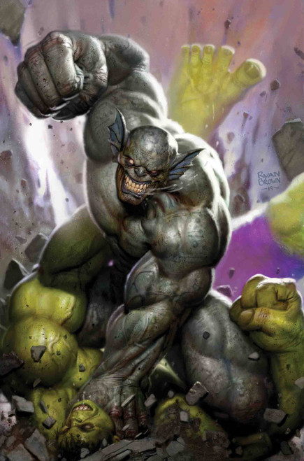 Marvel Comics The Immortal Hulk #22 Comic Book [Ryan Brown Variant Cover]