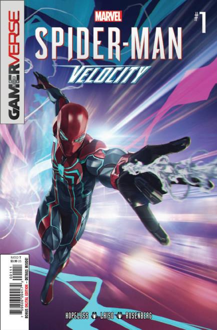 Marvel Comics Spider-Man Velocity #1 Comic Book