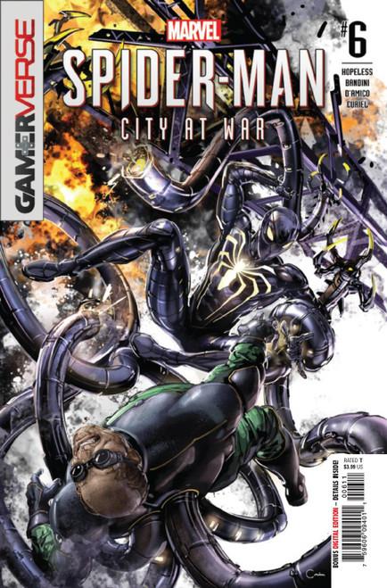 Marvel Comics Spider-Man City at War #6 of 6 Comic Book